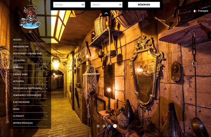 Cap Pirate hébergement Salon Nautique d'aumtomne Cap d'Agde